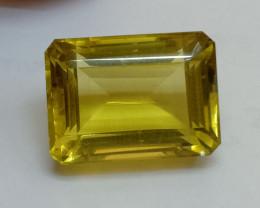 18x13mm Lemon Quartz Checkered Natural Untreated VAF200