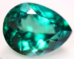 17.91ct Greenish Blue Topaz Pear Cut Lot V4304