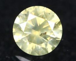 0.24Ct Fancy Green Natural Diamond A0804