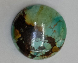 17x17mm TIBETIAN TURQUOISE GENUINE NATURAL UNTREATED VAF206