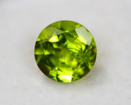 3.06Ct Natural Green Peridot Round Cut Lot Z380