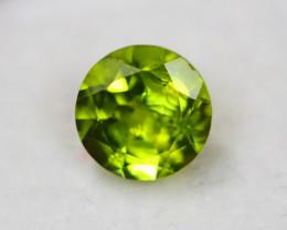 3.06Ct Green Peridot Round Cut Lot Z380