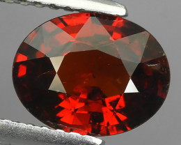2.10 CTS EXQUISITE TOP FIRE NATURAL NICE RED COLOR SPESSARTITE GARNET!!