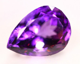 8.49Ct Purple Amethyst Pear Cut Lot LZ2639