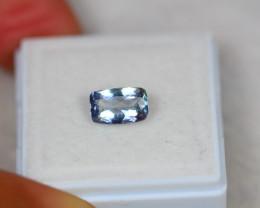 1.23Ct Light Blue Color Tanzanite Octagon Cut Lot A703