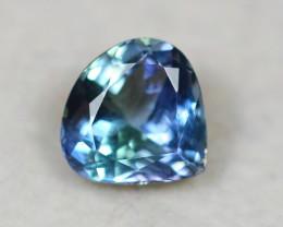 2.44Ct Natural Greenish Violet Blue Tanzanite Pear Cut Lot A1026