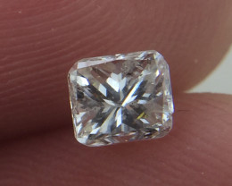 (B17) Marvelous $962 IGL Certified 0.51ct. Radiant White Diamond