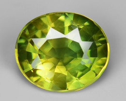 0.54 Ct Yellow Sapphire Top Quality  Gemstone. YS 15