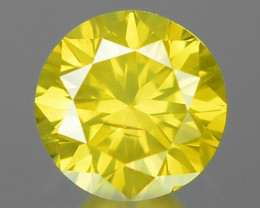 0.22 Ct Yellow Diamond Awesome Luster Gemstone D25