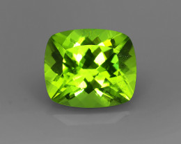 HUGE 11.18CT STUNNING NEON APPLE GREEN PERIDOT