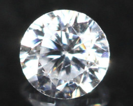 2.50mm G/VS Natural Round Brilliant Cut White Diamond