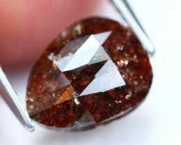 2.02Ct Fancy Red Rose Cut Natural Diamond B0904