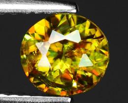 0.81 Ct Natural Sphene from Pakistan Sparkiling Luster Gemstone. SN 40