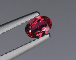 .29CT 5mm SUPERB NEON RED JEDI SPINEL from Mansin, Burma