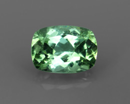 A 1.01CT VVS BLUE-GREEN TOURMALINE from AFGHANISTAN