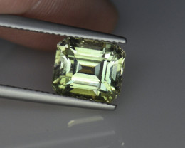 5.07CT 10mm STUNNING LIGHT GREEN AFGHAN TOURMALINE