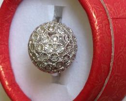 Diamond Dome Ring 0.25 TCW.