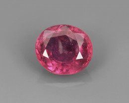 .88CT UNHEATED PINK SAPPHIRE from Madagascar