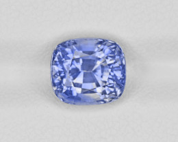 Blue Sapphire, 4.19ct - Mined in Sri Lanka | Certified by GIA & GII