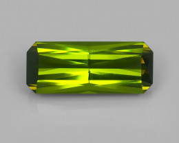 10.99CT  Intense FOREST GREEN Natural Tourmaline