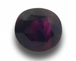Natural Unheated Reddish Purple Sapphire |Loose Gemstone| Sri Lank