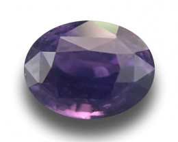 Natural Unheated Purple Sapphire | Loose Gemstone|Sri Lanka - New