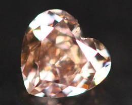 Exclusive 0.23Ct Fancy Purplish Pink Natural Diamond A1003