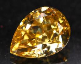 Exclusive 0.74Ct Fancy Cognac Natural Diamond A1007