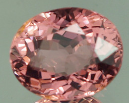 1.65 CT Padparadscha Color !! Congo Tourmaline Untreated-PT69