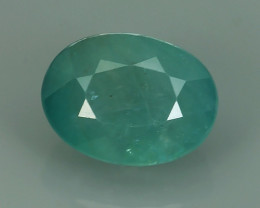 2.60 CTS DAZZLING!!!Top Natural Green Grandidierite Oval MADAGASCAR NR!!!