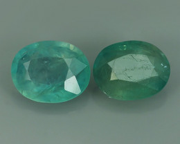 2.50 Cts World's Rarest Gem Oval Natural Green Grandidierite Wonderful!