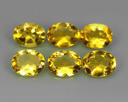 8.25 Cts_Shimmering_Oval Cut_Fine Yellowish_Sizzling_Citrine_NR!!