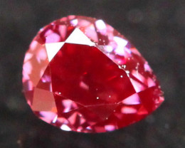 0.13Ct Fancy Purplish Red Natural Diamond A1108