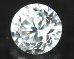 2.20mm D F / VS Natural White Round Brilliant Cut Diamond