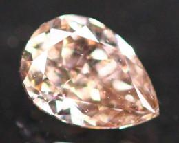 Exclusive 0.35Ct Fancy Purplish Pink Natural Diamond B1110