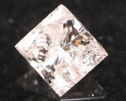 0.20Ct Fancy Pink Princess Cut Natural Diamond C1107