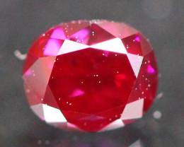 0.21Ct Fancy Purplish Red Natural Diamond C1111