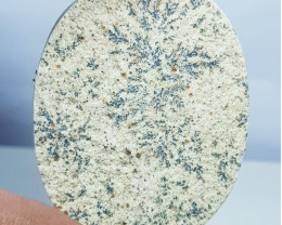68.05 ct Natural Psilomelane Oval Cabochon Gemstone.
