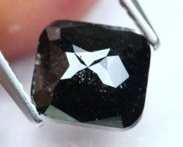 1.67Ct Fancy Black Rose Cut Natural Diamond A1206