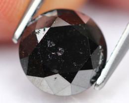 2.15Ct Fancy Black Carbonado Natural Diamond B1201
