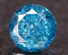 0.67Ct Fancy Electric Blue Natural Diamond B1207