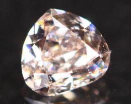 Natural Argyle 0.19Ct Fancy Purplish Pink Natural Diamond C1204