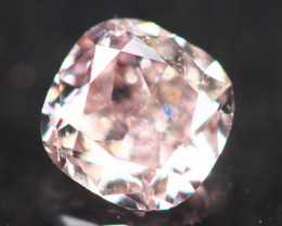 Natural Argyle 0.15Ct Fancy Purplish Pink Natural Diamond C1210