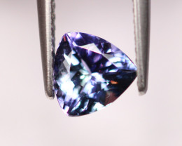 0.95cts Natural Violet Blue Tanzanite HH31