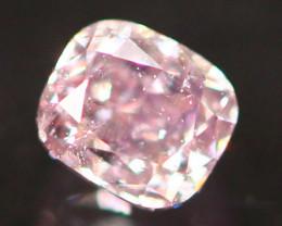Natural Argyle 0.12Ct Sakura Pink Diamond 6917