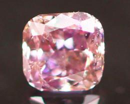 Natural Argyle 0.07Ct Vivid Purplish Pink Diamond 6920