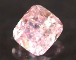 Natural Argyle 0.12Ct Pink Diamond 6925
