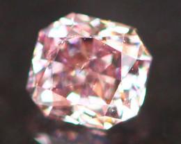 Natural Argyle 0.13Ct Vivid Purplish Pink Diamond 6927