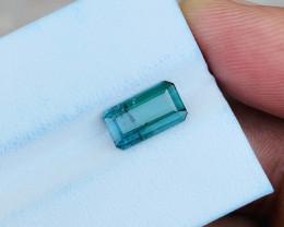 1.65 Ct Natural Light Blueish Transparent Tourmaline Gemstone