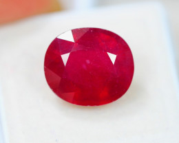 12.25Ct Blood Red Color Ruby Composite Oval Cut Lot LZ1658